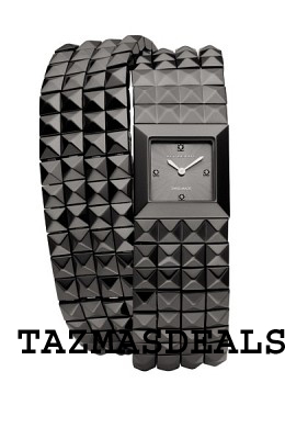 NEW Burberry pyramid black women watch BU5353